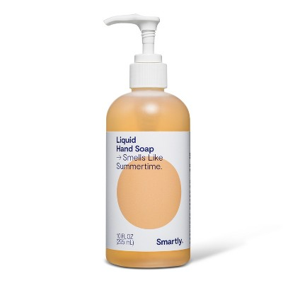 Summertime Scented Liquid Hand Soap - 10 fl oz - Smartly™