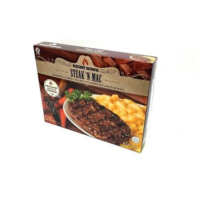 Night Hawk Frozen Steak 'n Mac - 7.05oz