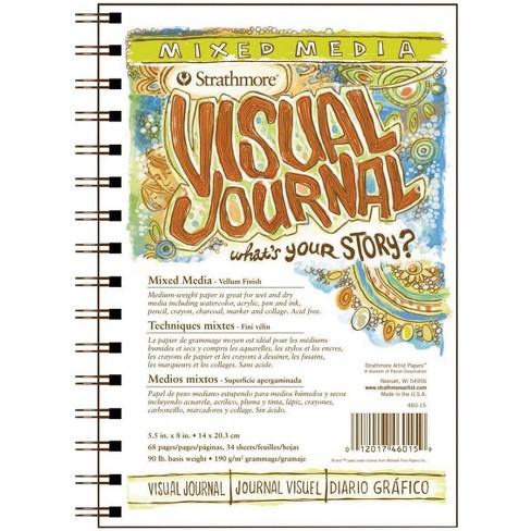 Strathmore Visual Mixed Media Pad, 5-1/2 x 8 Inches, 90 lb, 34 Sheets - image 1 of 1