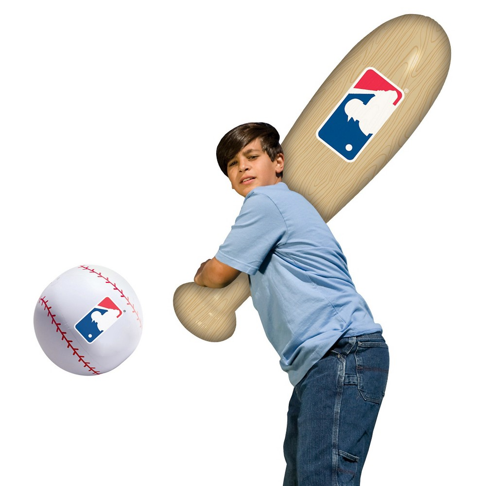 Franklin Sports MLB Inflatable Bat & Ball Set
