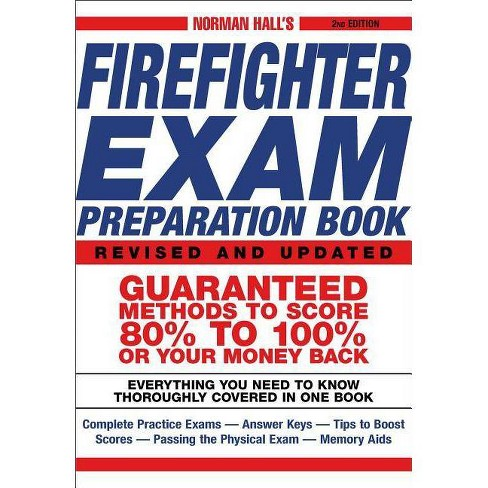 Norman Hall's Firefighter Exam Preparation Book - 2 Edition (Paperback) - image 1 of 1