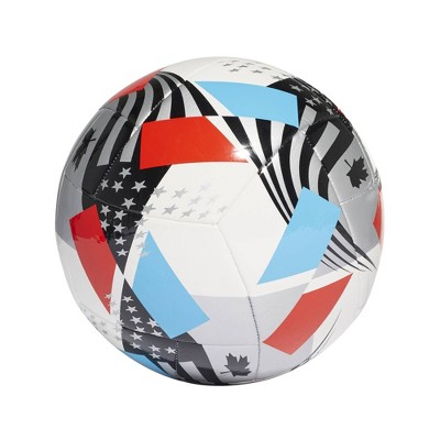 Adidas MLS Size 4 Club Sports Ball - White/Black