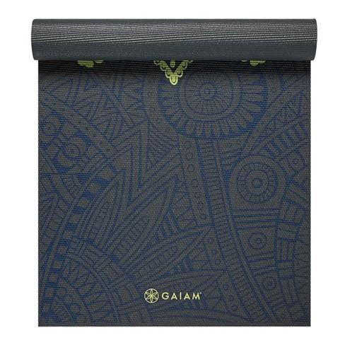 Gaiam Premium Blue Sundial Yoga Mat (6mm) - image 1 of 4