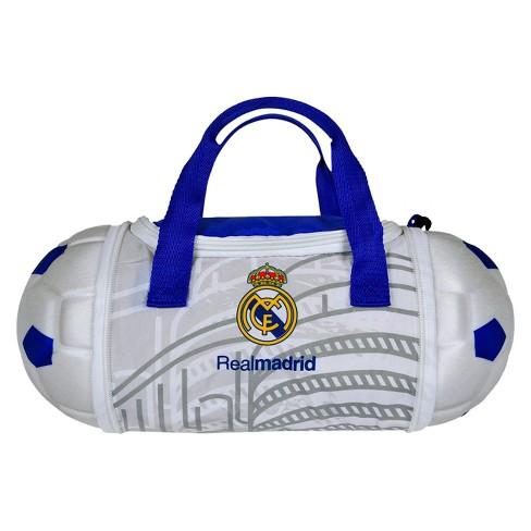 La Liga Real Madrid CF Collapsible Soccer Ball Lunch Bag   Target a39252b295ed