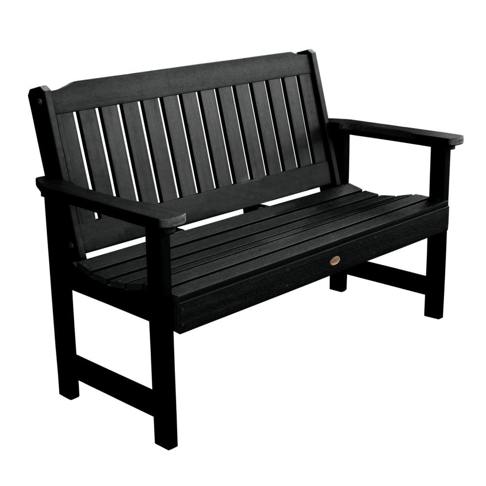 Marvelous Lehigh Garden Bench 4Ft Black Highwood Ibusinesslaw Wood Chair Design Ideas Ibusinesslaworg