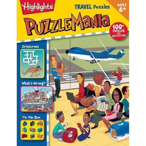 PuzzleMania Travel Puzzles (Paperback) by Highlights for Children - image 1 of 1