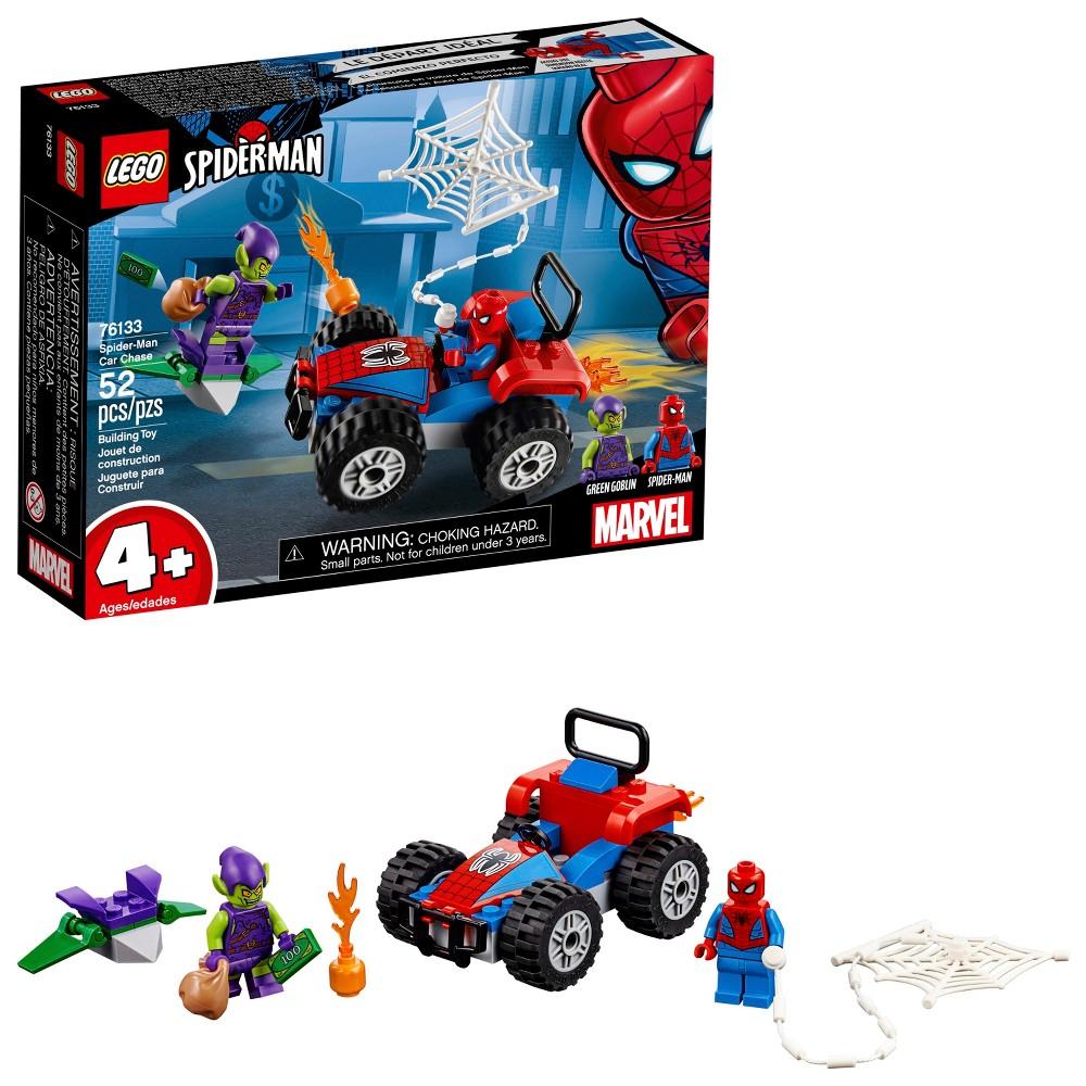 LEGO Marvel Super Heroes Spider-Man Car Chase 76133