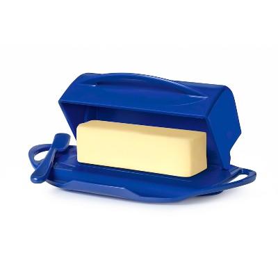 8oz Butter Dish Dark Blue - Butterie