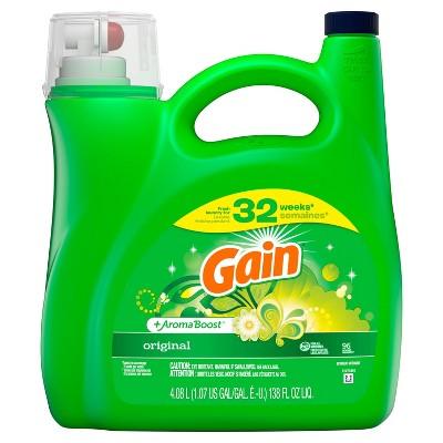 Gain HEC Original Liquid Laundry Detergent