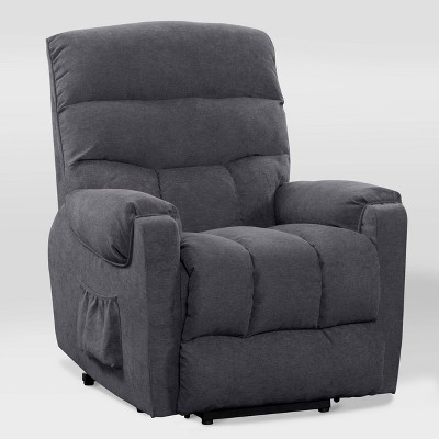 Dallas Power Lift Assist Upholstered Recliner - CorLiving