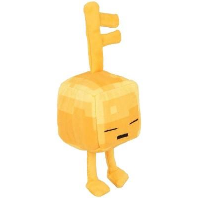 JINX Inc. Minecraft Dungeons Mini Crafter Series 4.5 Inch Plush | Gold Sleeping Key Golem