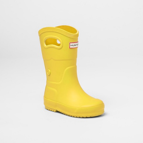 21ecfdc91b6 Hunter For Target Toddlers  Waterproof Tall Rain Boots - Yellow   Target