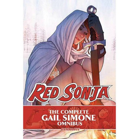 The Complete Gail Simone Red Sonja Oversized Ed. Hc - (Hardcover) - image 1 of 1