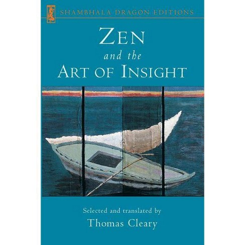 Zen and the Art of Insight - by  Thomas Cleary (Paperback) - image 1 of 1