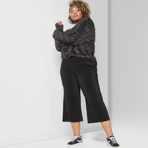 fa45a5eddd414 Women s Plus Size Bodre Pants - Wild Fable™ Black 4X   Target