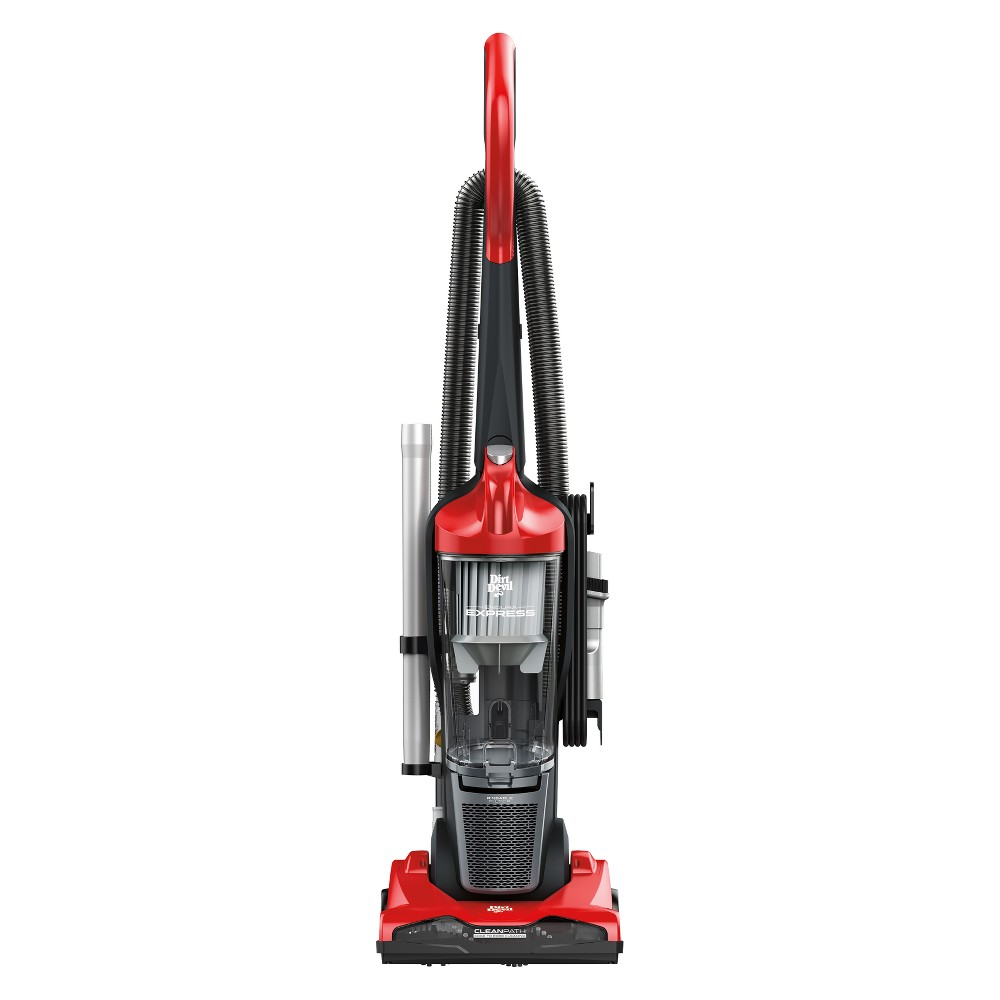 Image of Dirt Devil Endura Express Compact Upright Vacuum, Red