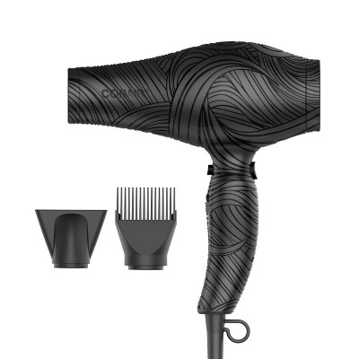 Conair The Curl Collective Ceramic Ionic Hair Dryer - Black