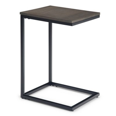 "14"" Aylward C Side Table Warm Gray - WyndenHall"