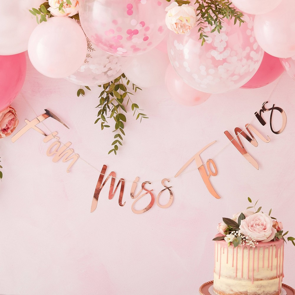 "Image of """"""From Miss To Mrs"""" Party Accessories"""