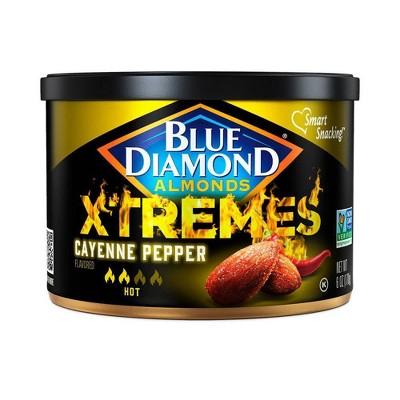Blue Diamond Almonds  Xtremes Cayenne Pepper - 6oz