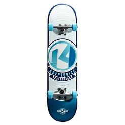 Kryptonics POP Series Skateboard - Sky Blue-Rays, Kids Unisex