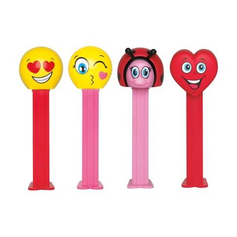 Pez Valentine S Day Emoji Dispenser 1 74oz Target