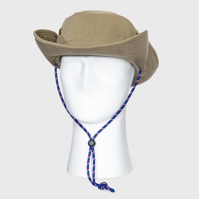 Men's Bonnie Hat with Blue Cord - Goodfellow & Co™ Khaki L/XL