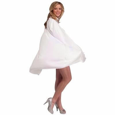 "Forum Novelties 45"" White Costume Magician Cape"
