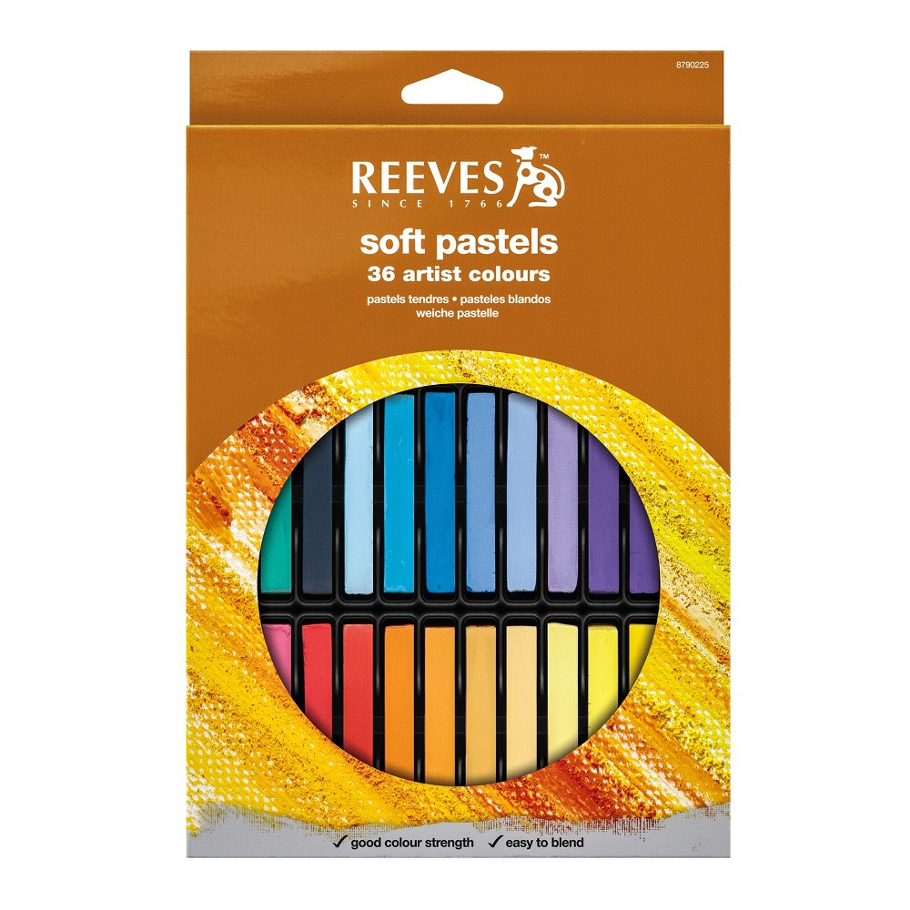 Image of Soft Pastels Multicolor 36ct - Reeves
