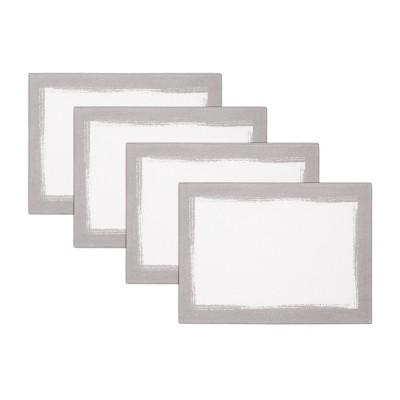 "Villeroy & Boch - Metallic Brushstroke Placemats, Set of 4 - 14"" x 20"""