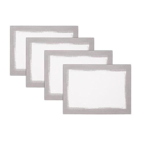 "Villeroy & Boch - Metallic Brushstroke Placemats, Set of 4 - 14"" x 20"" - image 1 of 4"