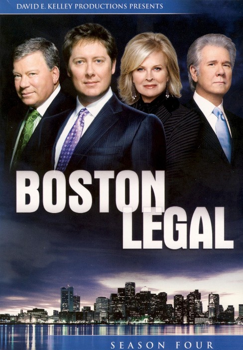 Boston Legal: Season 4 [5 Discs] - image 1 of 1