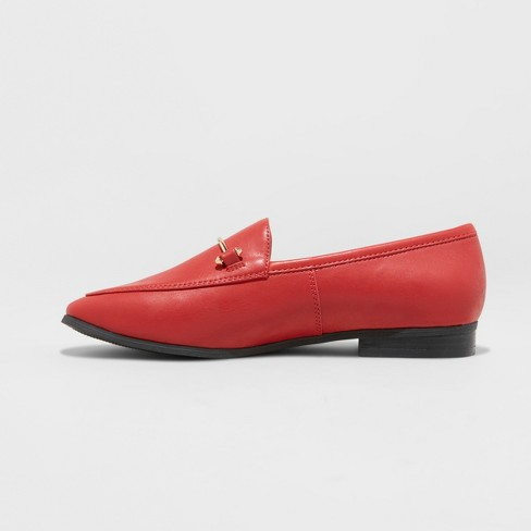 e19037d26b1 Women s Perry Loafers - A New Day™ Red 9   Target