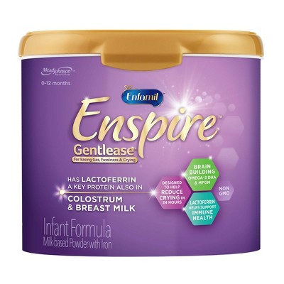 Enfamil Enspire Gentlease Infant Formula with Iron Powder - 20oz