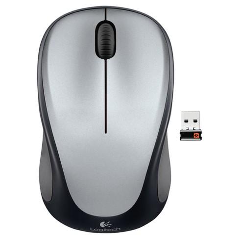 Logitech M317 Wireless Mouse - Silver (910-004837)
