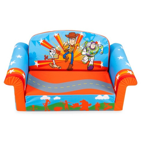 Excellent Marshmallow Toy Story 4 Furniture Flip Open Sofa Beatyapartments Chair Design Images Beatyapartmentscom