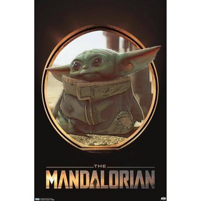 Star Wars: The Mandalorian - The Child (Baby Yoda) Premium Poster