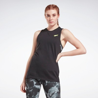 Reebok Workout Ready MYT Muscle Tank Top Womens Athletic Tank Tops