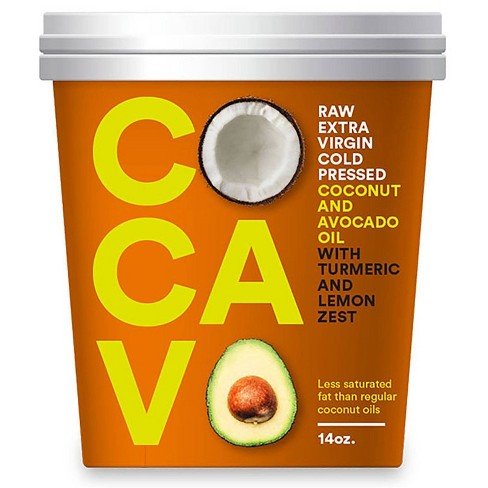 Cocavo Coconut & Avocado Oil w/Turmeric & Lemon - 14oz - image 1 of 3