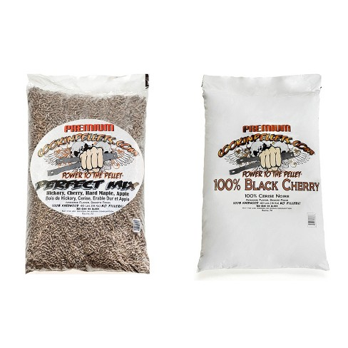 CookinPellets Perfect Mix Wood Pellets and Black Cherry Wood Pellets, 40 Lb Bags - image 1 of 4