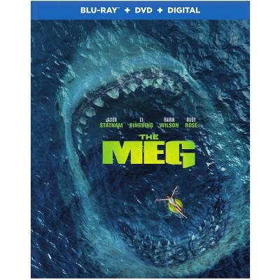 The Meg (Blu-Ray + DVD + Digital)