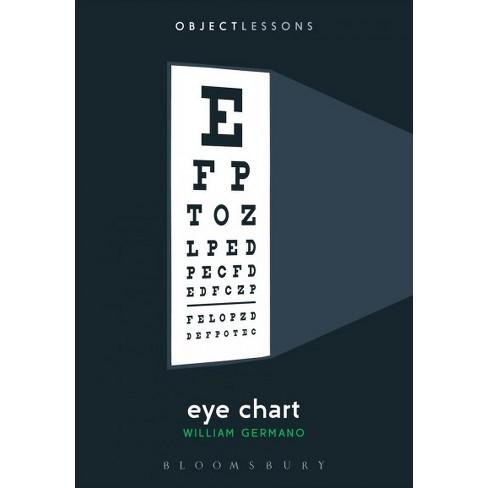 Eye Chart Paperback William Germano Target