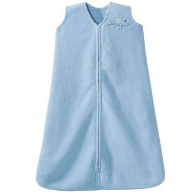 Halo Innovations SleepSack Wearable Blanket Micro Fleece - Baby Blue L