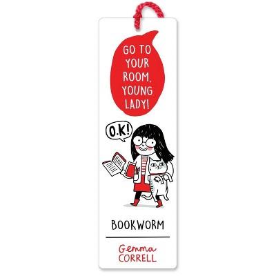 Gemma Correll Bookworm Quotemarks