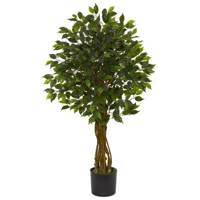 4ft Ficus Artificial Tree - Nearly Natural