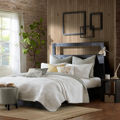 3pc King Pacific Coverlet Mini Set Taupe