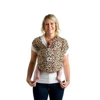 Baby Ktan Baby Carrier Print Leopard Love Brown - S