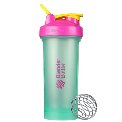 BlenderBottle 28oz Classic V2 Water Bottle - Mint/Pink/Yellow