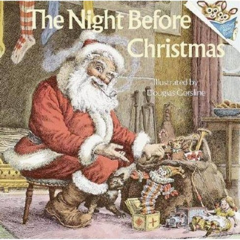 The Night Before Christmas - (Pictureback(r)) by  Clement C Moore (Paperback) - image 1 of 1