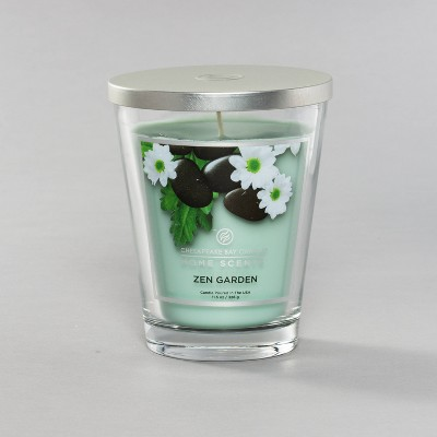 11.5oz Glass Jar Candle Zen Garden - Home Scents by Chesapeake Bay Candle
